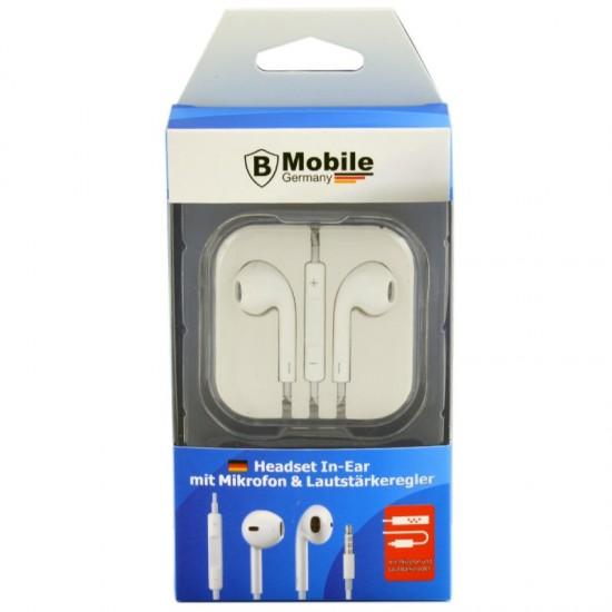 Slušalke za mobilni telefon univerzalne BELE