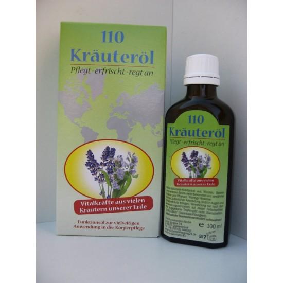 Zeliščno masažno olje 110 - krauter olje